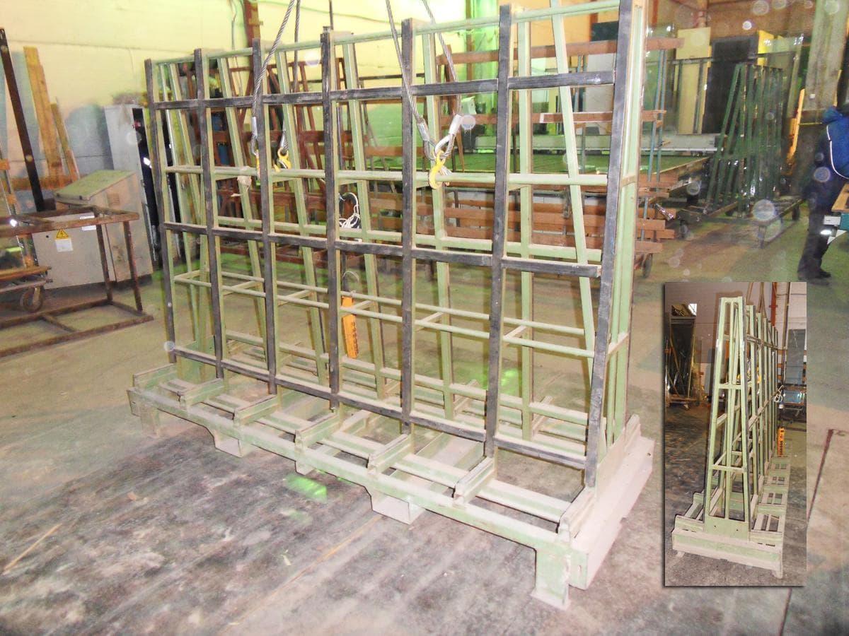 Пирамиды для перевозки стекла