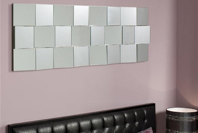Зеркало на стену с фацетом