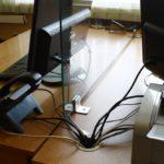 Защитный экран из прозрачного стекла